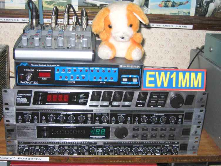The EW1MM Voodoo Audio Rack!