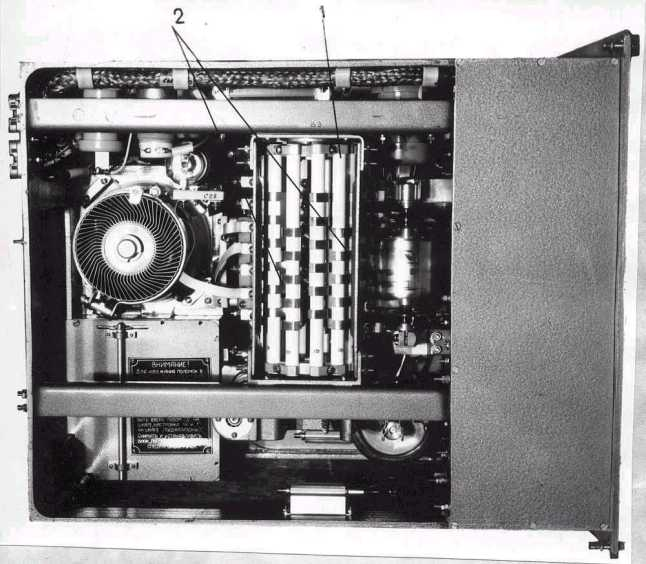 A Top View of the Power Amplifier.