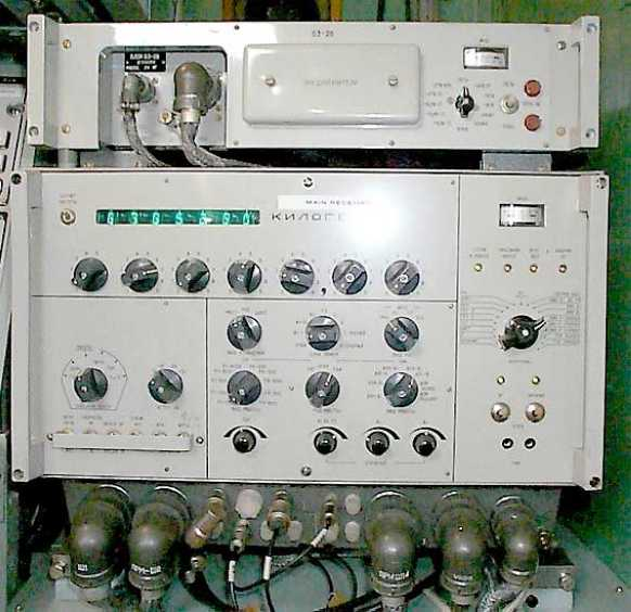 Communications Receiver modified into a Transceiver.